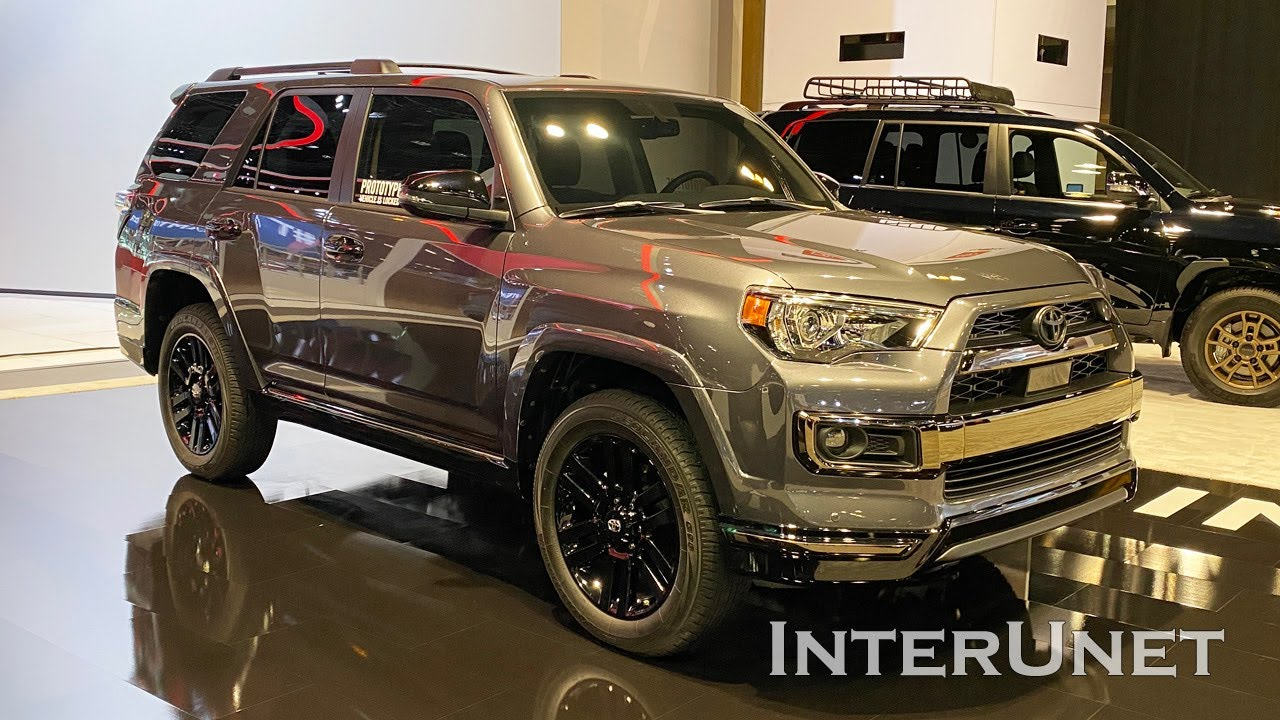 2021 Toyota 4Runner Limited AWD Nightshade Edition YouTube