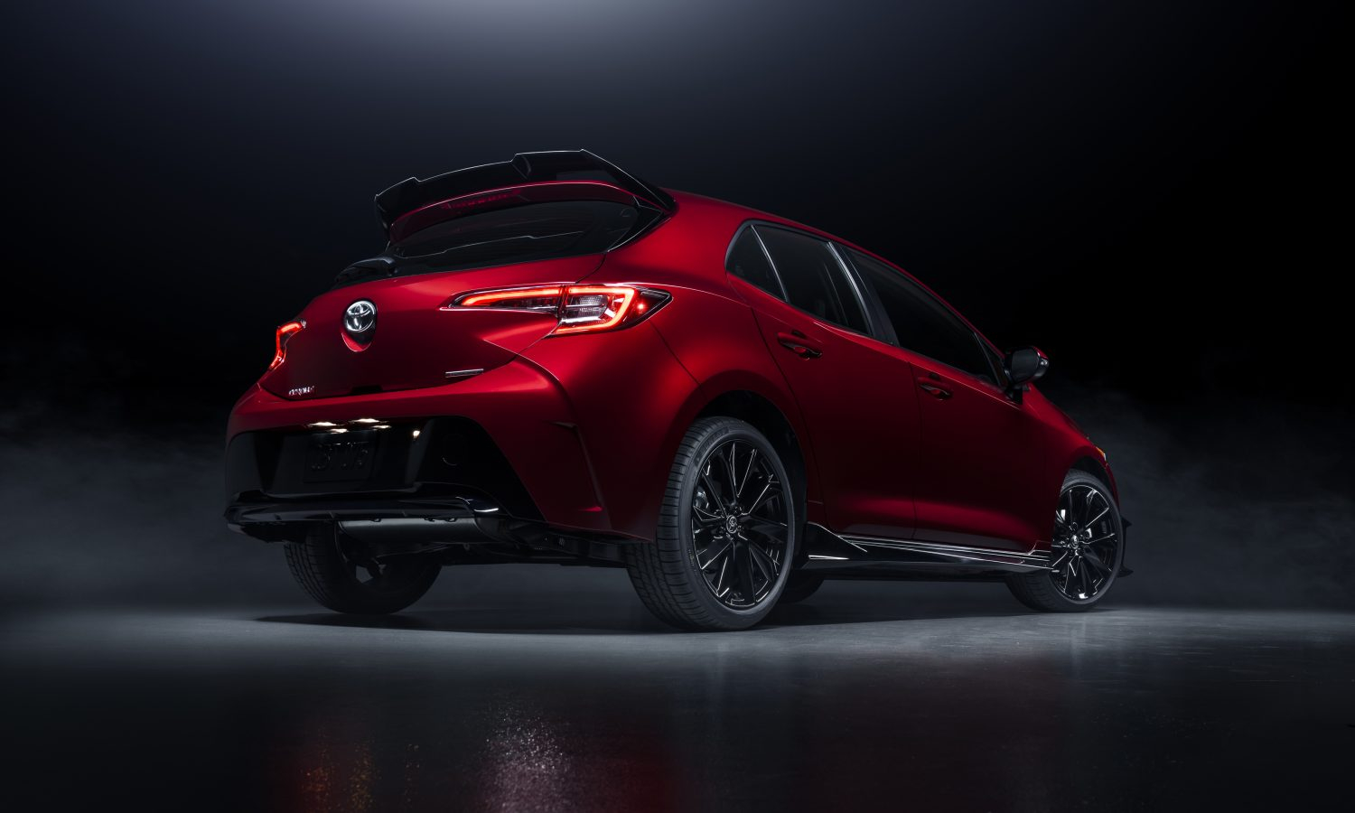 2021 Toyota Corolla Hatchback Special Edition Makes Red